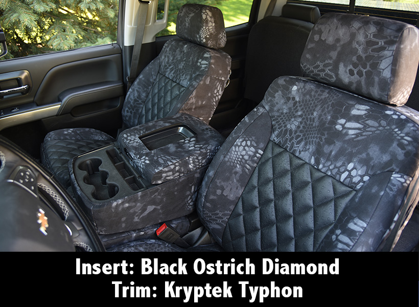 Black Ostrich Diamond Kryptek Typhon