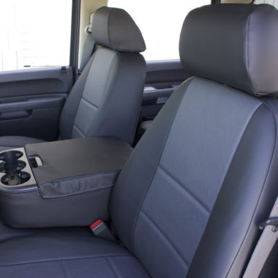 Black Gray SofTouch Seat Covers