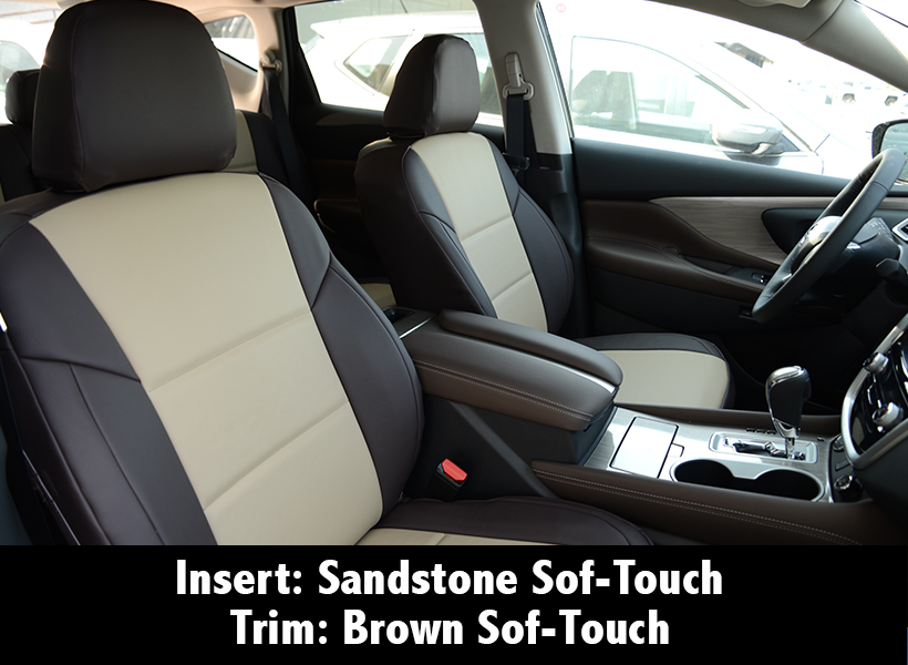 Brown Sandstone Sof-Touch Seat Covers