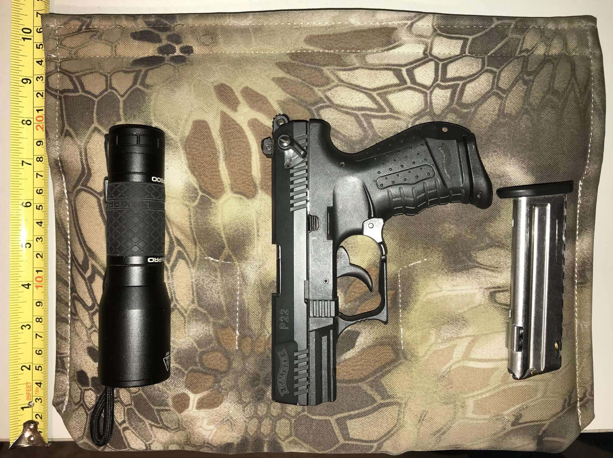 Seat Cover pistol pocket