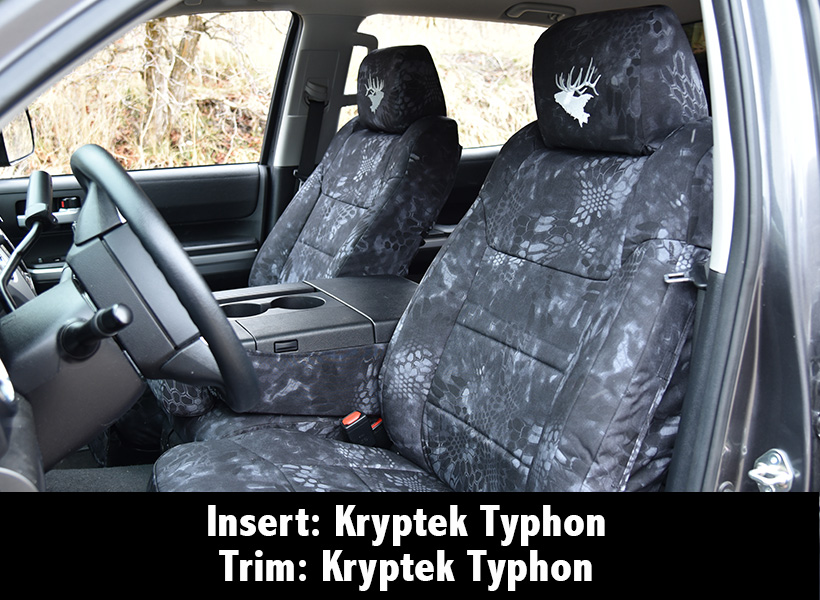 Kryptek Typhon Custom Seat Cover