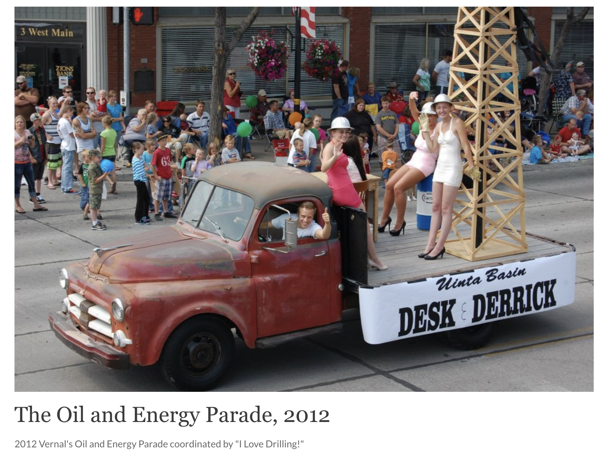 Oil and Energy Parade 2012 I Love Drilling