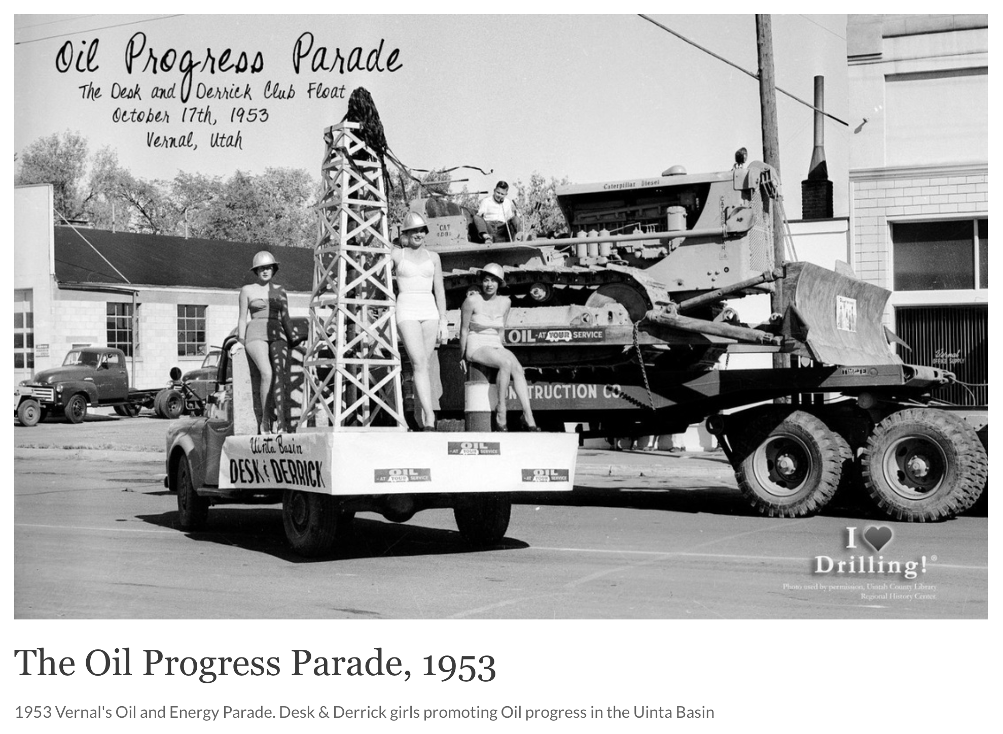Oil and Energy Parade 1953