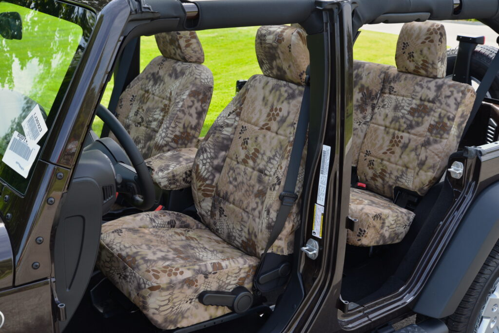 Jeep Wrangler Seat Covers Kryptek Highlander