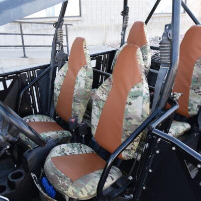 Polairs RZR Mulitcam Original Seat Covers