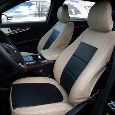 2017 Lincoln MKX Black Ostrich Sandstone Ostrich