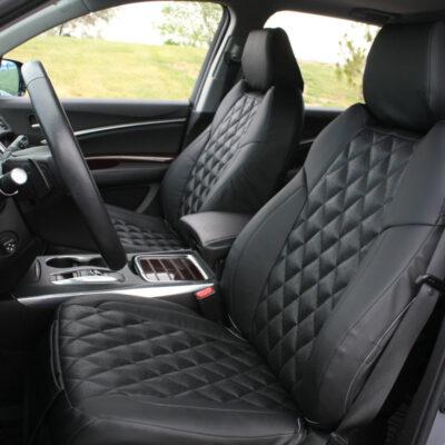 2018 Acura MDX Black Ostrich Black SofTouch